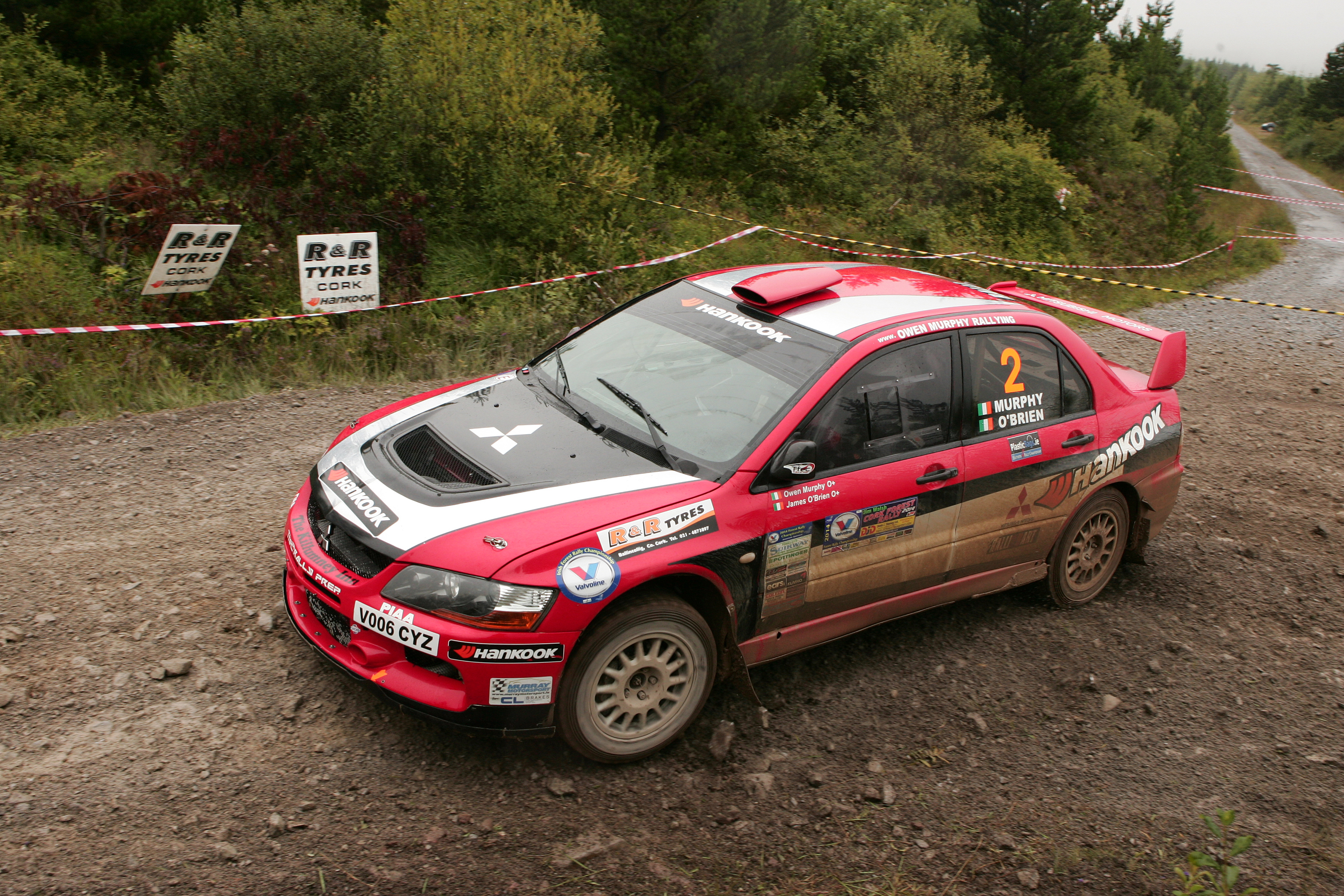 Owen Murphy  James O Brien winners Cork Forestry 2014 pic Ger Leahy 086 35 500 35 030